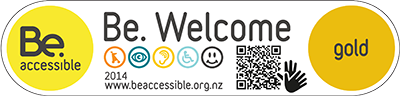 Be Accessible Gold Logo Altris
